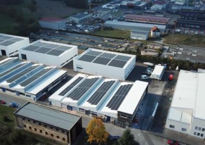 Bouveret – Halles industrielles Berger