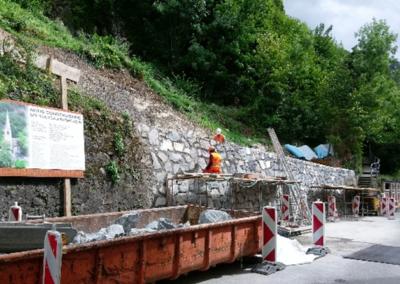 Montreux – Nouveau réservoir – Maralley